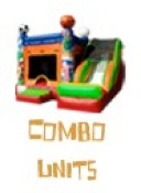 commercial bouncy castle combo