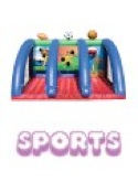 commercial bouncy castle sports
